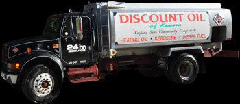Discount Oil of Keene Truck